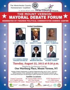 2015 Mayoral Debate 2015
